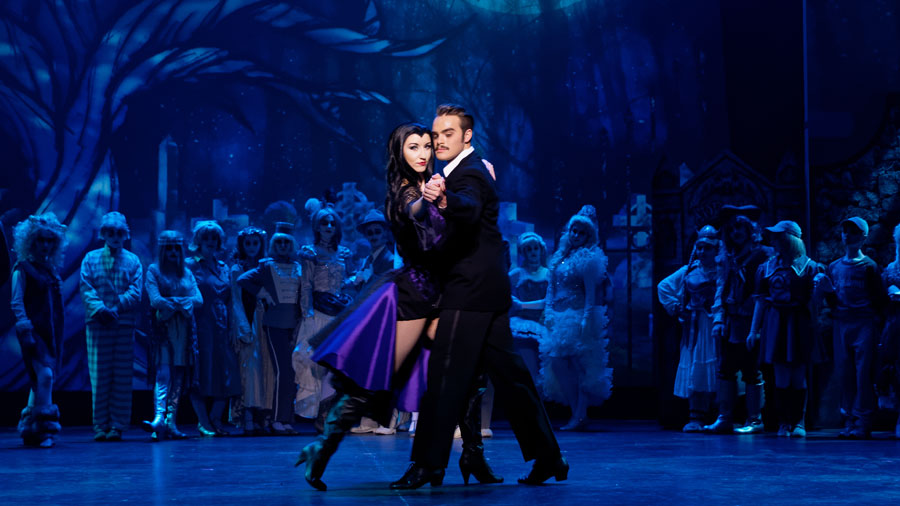 Anjie Rose Wilson, Ryan Van Overeem, The Addams Family, Tango